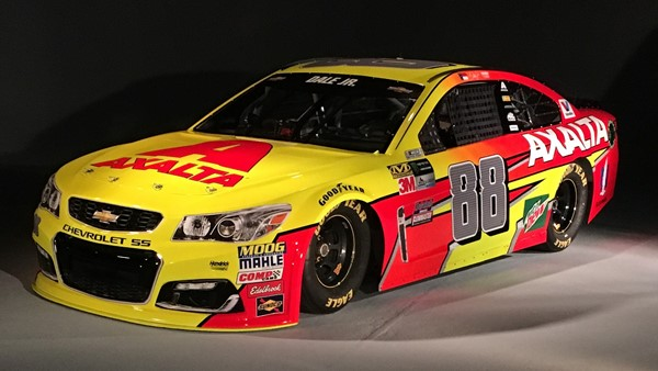 New dale jr. Paint scheme makes its debut for darlington race.