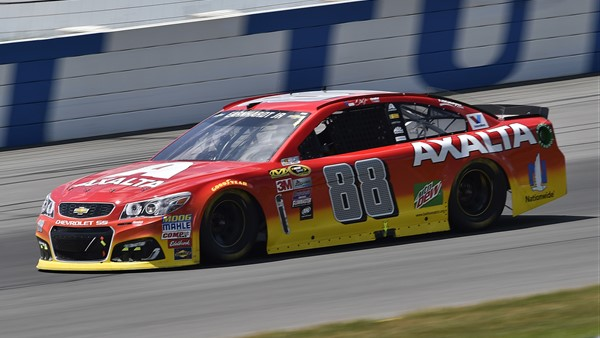 Earnhardt, Axalta Team Notch Strong Run at Pocono #nascar